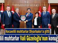 Dilovalı muhtardan Vali Güzeloğlu'na ziyaret