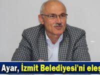 İrfan Ayar, İzmit Belediyesi'ni eleştirdi