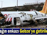 Uçağın enkazı 4 günde yüklendi!