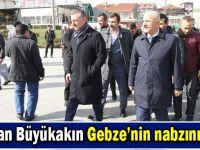 AK Parti Kocaeli kurmaylarından Gebze çıkarması