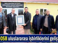 Türkmenistan'dan İMES OSB'ye ziyaret