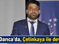 SP Darıca'da, 'Çetinkaya' ile devam