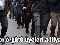 Gebze'de PKK/KCK şüphelileri adliyede