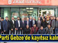 AK Parti Gebze'de kayıtsız kalmadı