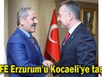 KEDFE Erzurum'u Kocaeli'ye taşıyor