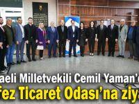 Kocaeli Milletvekili Cemil Yaman'dan KTO'ya ziyaret