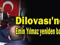 Dilovası'nda Emin Yılmaz yeniden başkan