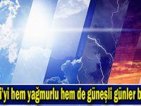 Kocaeli'yi hem yağmurlu hem de güneşli günler bekliyor