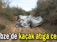 Gebze'de kaçak atığa ceza!