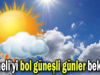 Kocaeli'yi bol güneşli günler bekliyor