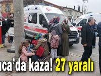 Darıca'da kaza! 27 yaralı