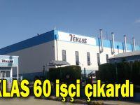 TEKLAS 60 işçi çıkardı