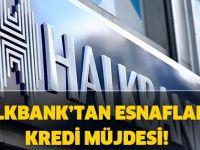 Halkbank'tan esnafa 25 bin TL'lik destek