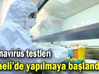Koronavirüs testleri Kocaeli'de yapılmaya başlandı!