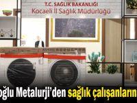 Çolakoğlu'ndan sağlık çalışanlarına jest!