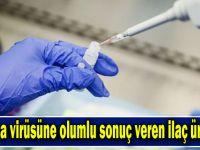 Korona tedavisinde olumlu sonuç veren ilacı Türk firması üretti!