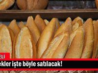 Kocaeli'de ekmekler işte böyle satılacak!