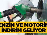Benzin ve motorine indirim geliyor