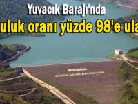 Yuvacık Barajı'nda doluluk oranı yüzde 98'e ulaştı
