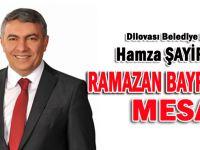 Başkan Şayir'den Ramazan Bayramı mesajı