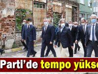 AK Parti'de tempo yükseldi