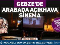 Perşembe günü Gebze'de arabada sinema keyfi yaşanacak
