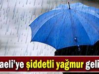 Kocaeli'ye şiddetli yağmur geliyor!