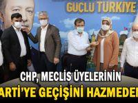 CHP'liler Meclis üyelerinin AK Parti'ye geçmesini hazmedemedi