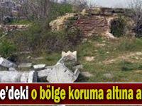 Gebze'deki o bölge koruma altına alındı!