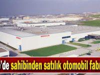 Gebze'de sahibinden satılık otomobil fabrikası!