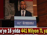 Gebze'ye 16 yılda 441 Milyon TL yatırım