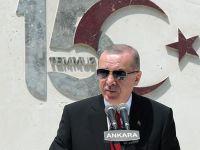 Cumhurbaşkanı Erdoğan'dan tarihi açıklamalar!