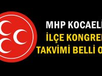 MHP Kocaeli'de ilçe kongre takvimi belli oldu