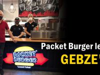 Packet Burger lezzeti Gebze'de