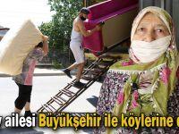 Güzey ailesi Büyükşehir ile köylerine döndü