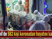 Kocaeli'de 582 kişi koronadan hayatını kaybetti
