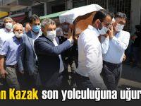 Dilovası Belediyesi işçisi son yolculuğuna uğurlandı!