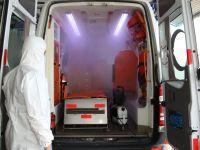 Hasta Nakil Ambulansları her gün dezenfekte ediliyor