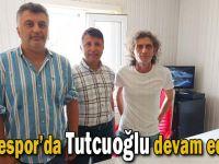 Gebzespor'da Tutcuoğlu devam ediyor!