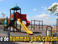 Gebze'de hummalı park çalışmaları