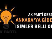 Gebze'de o isimler Ankara'ya çağrıldılar!