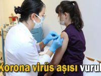 Türkiye'de ilk korona virüs aşısı vuruldu!