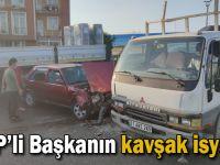 CHP'li Başkanın kavşak isyanı!