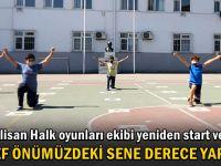 Polisan Halk oyunları ekibi yeniden start verdi