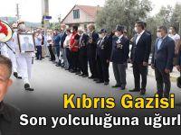 Kıbrıs Gazisi törenle son yolculuğuna uğurlandı