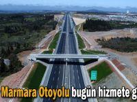 Kuzey Marmara Otoyolu bugün hizmete girecek