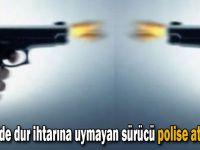 Gebze'de dur ihtarına uymayan sürücü polise ateş açtı