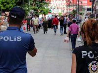 225 kişi ve 2 iş yerine tedbir cezası