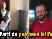 AK Parti'de peş peşe istifalar!
