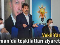 Vekil Yaman, Batman'da başkan adayları ile görüştü